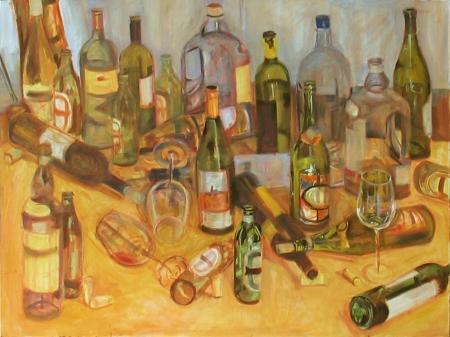 """work-in-progress, oil on canvas, 30x40"""""""