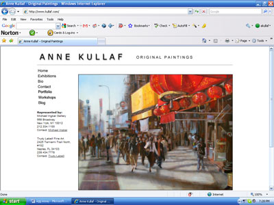 www.kullaf.com - my web site, in addition to the site I have this blog and a Facebook page