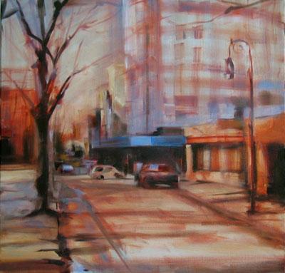 work-in-progress, oil on canvas, 20x20 in.