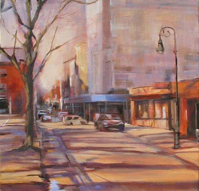"""work-in-progress, oil on canvas 20x20"""""""