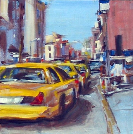 The Rhythm of NY is the theme of my solo exhibit at Salmagundi which runs from Aug. 11 through 21