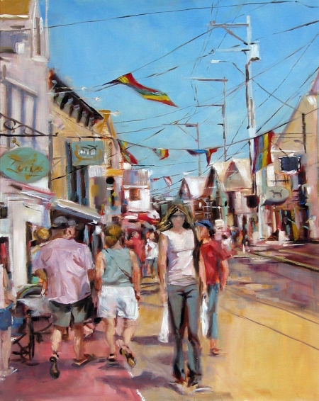 Provincetown, oil on canvas, 18x24 in.