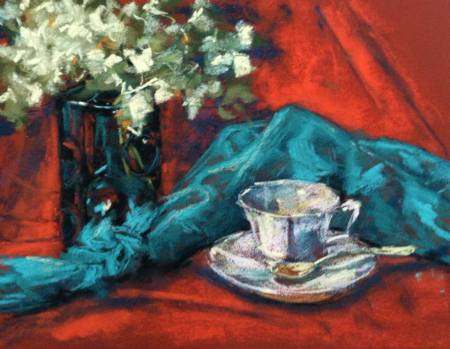 Pastel Still Life, this and lots more landscape and still life demos on studies available!